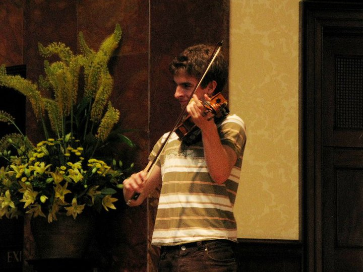 Rehearsal at Wigmore Hall